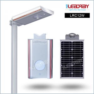 12 watt LED Solar Street Light with Motion