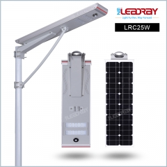 25W Solar Power Led Street Lighting
