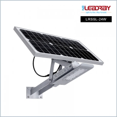24W Solar LED Bat Light